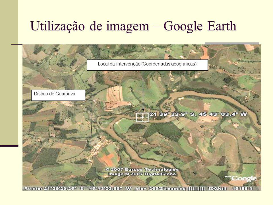 Utilização de imagem – Google Earth