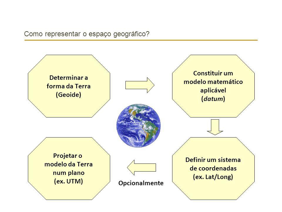 Como representar o espaço geográfico
