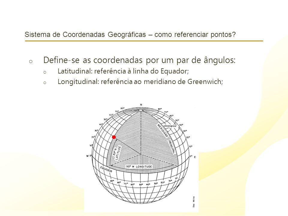Sistema de Coordenadas Geográficas – como referenciar pontos