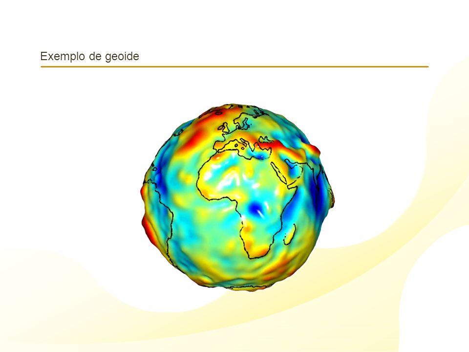 Exemplo de geoide