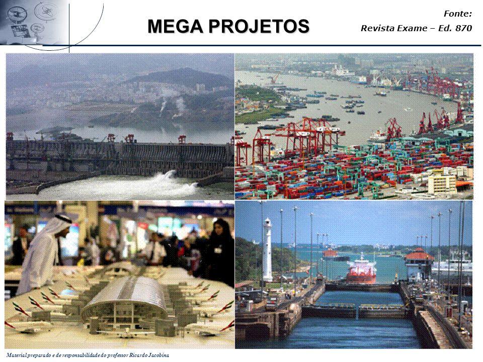 Fonte: Revista Exame – Ed. 870 MEGA PROJETOS