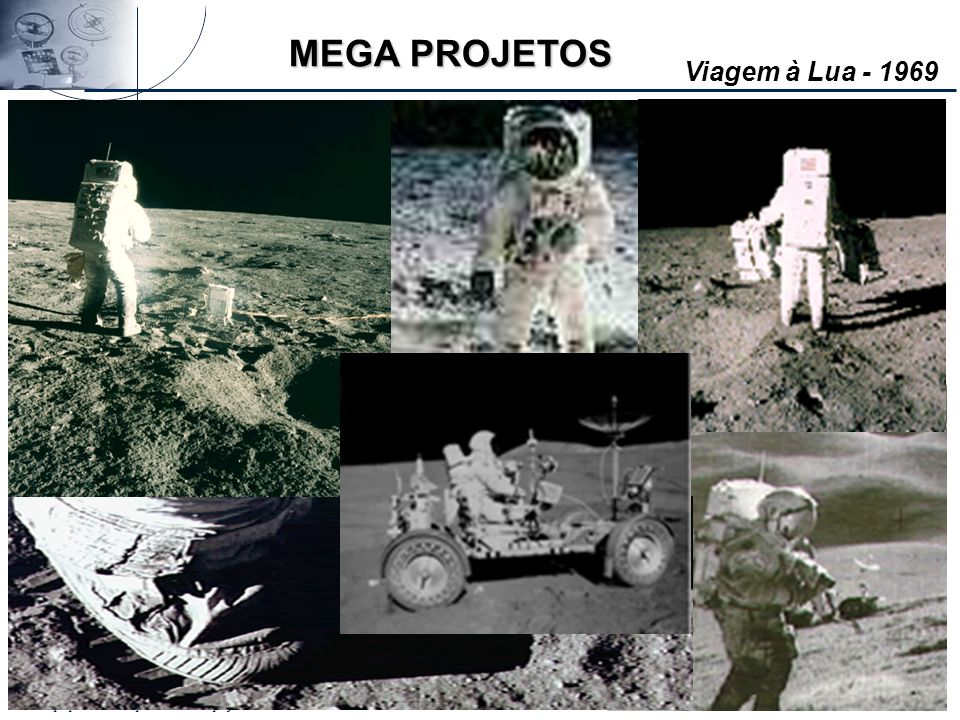 MEGA PROJETOS Viagem à Lua - 1969