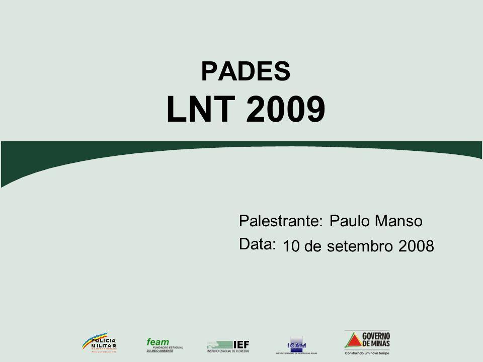 PADES LNT 2009 10 de setembro 2008