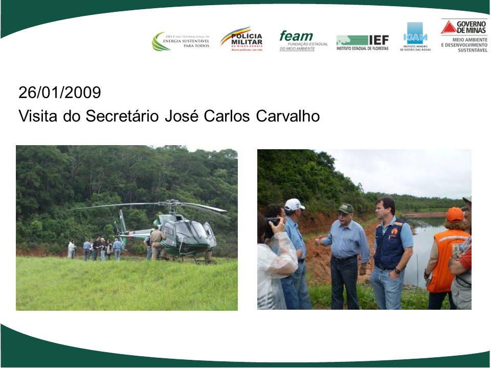 26/01/2009 Visita do Secretário José Carlos Carvalho