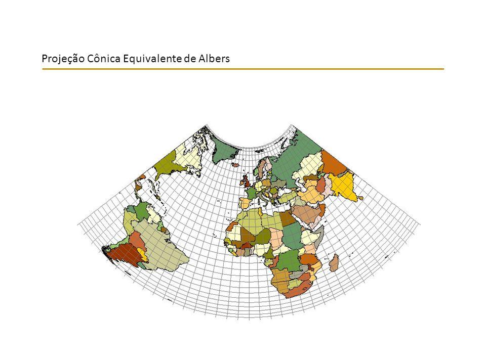 Projeção Cônica Equivalente de Albers