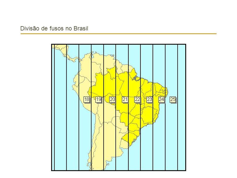 Divisão de fusos no Brasil