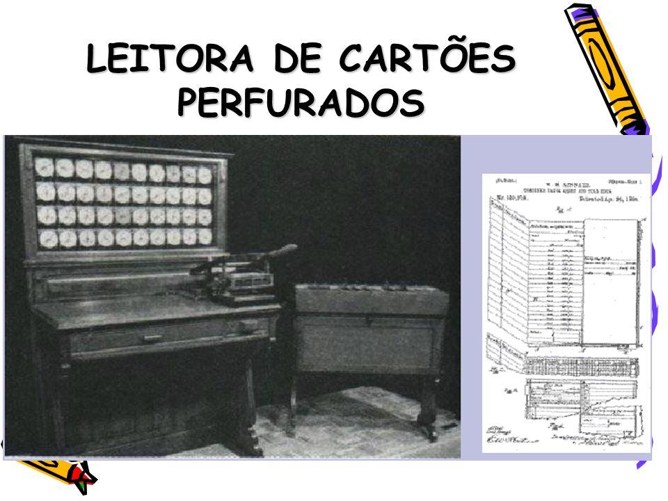 LEITORA DE CARTÕES PERFURADOS