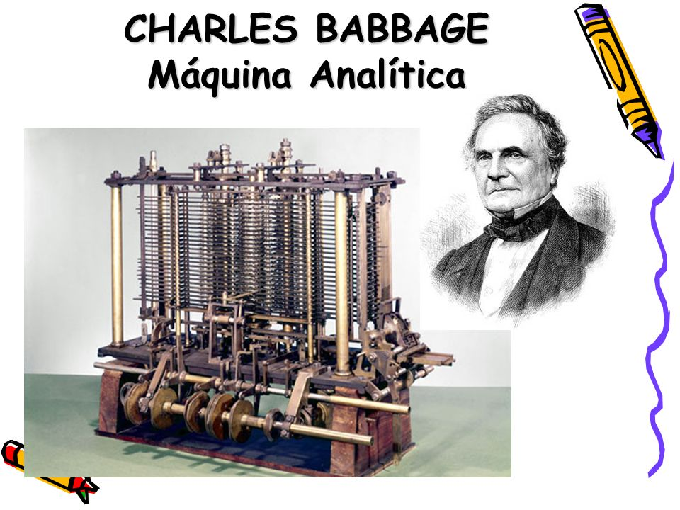 CHARLES BABBAGE Máquina Analítica