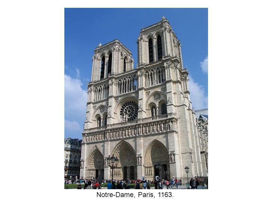 Notre-Dame, Paris, 1163.