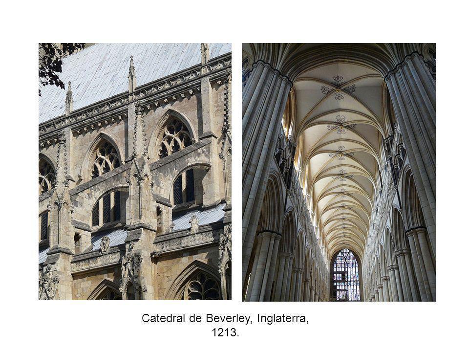Catedral de Beverley, Inglaterra, 1213.