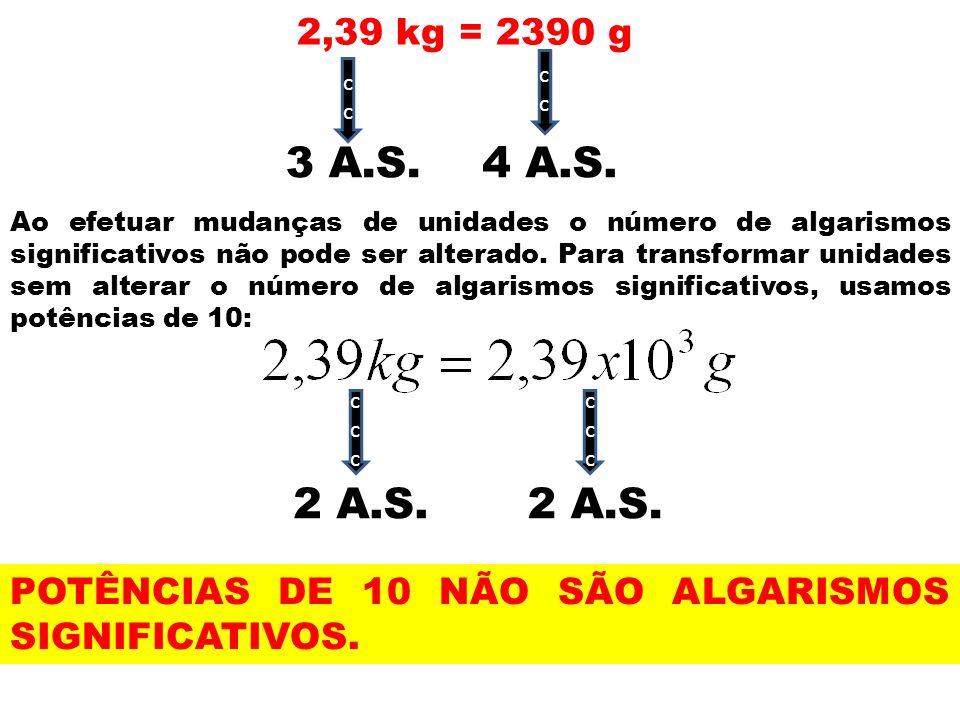 2,39 kg = 2390 gcc. cc. 3 A.S. 4 A.S.