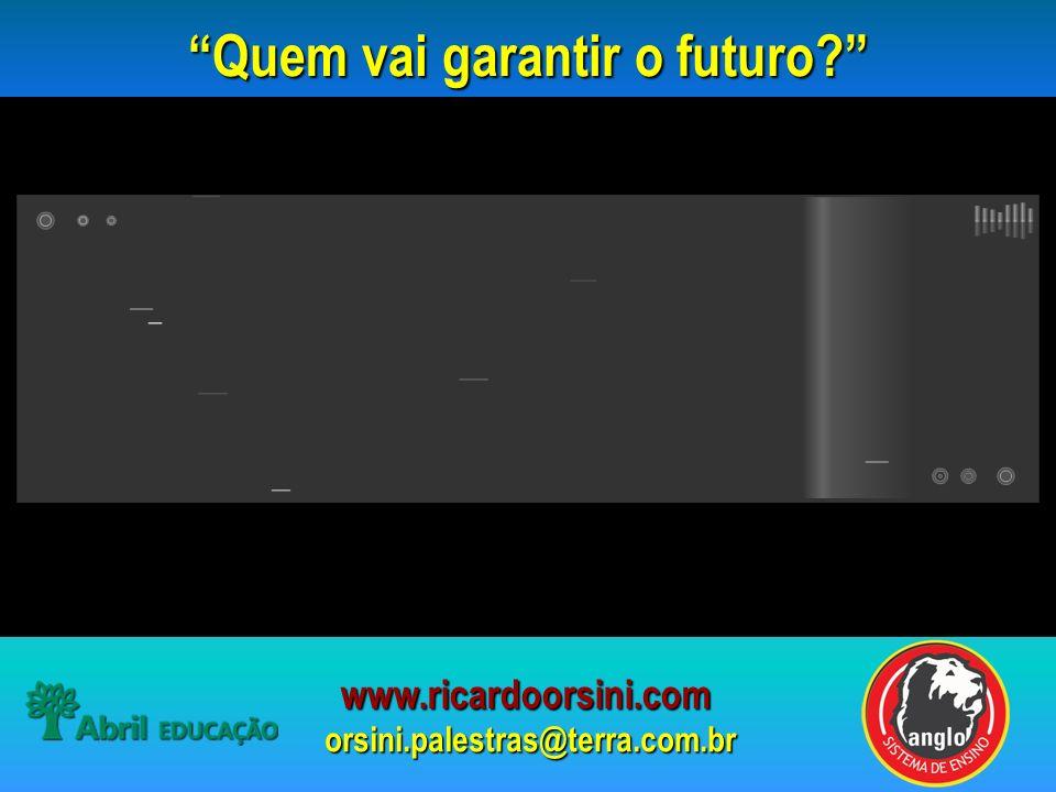 Quem vai garantir o futuro