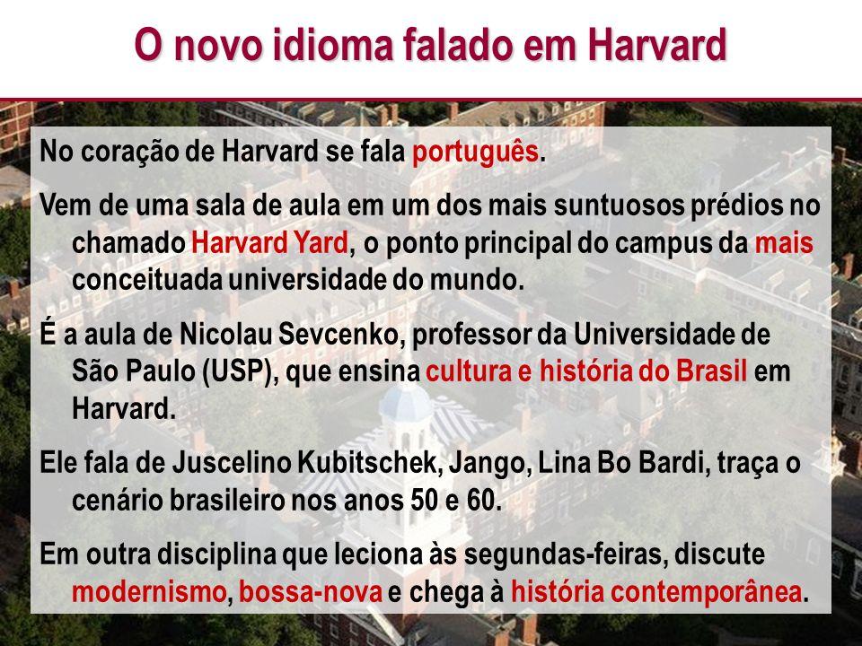O novo idioma falado em Harvard