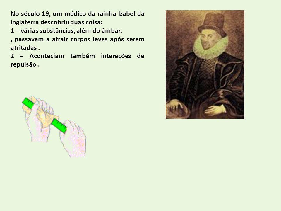 No século 19, um médico da rainha Izabel da Inglaterra descobriu duas coisa: