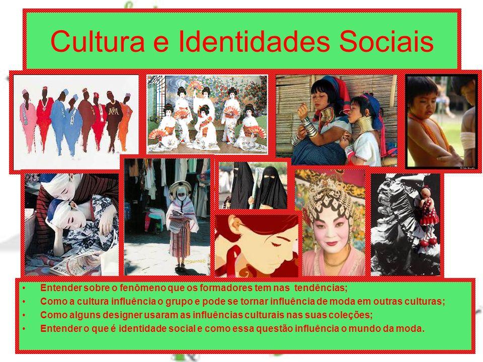 Cultura e Identidades Sociais