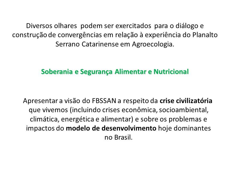 Soberania e Segurança Alimentar e Nutricional