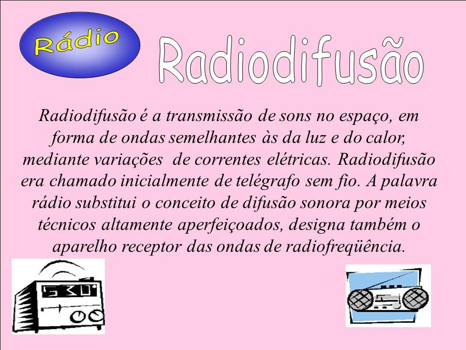 RádioRadiodifusão.