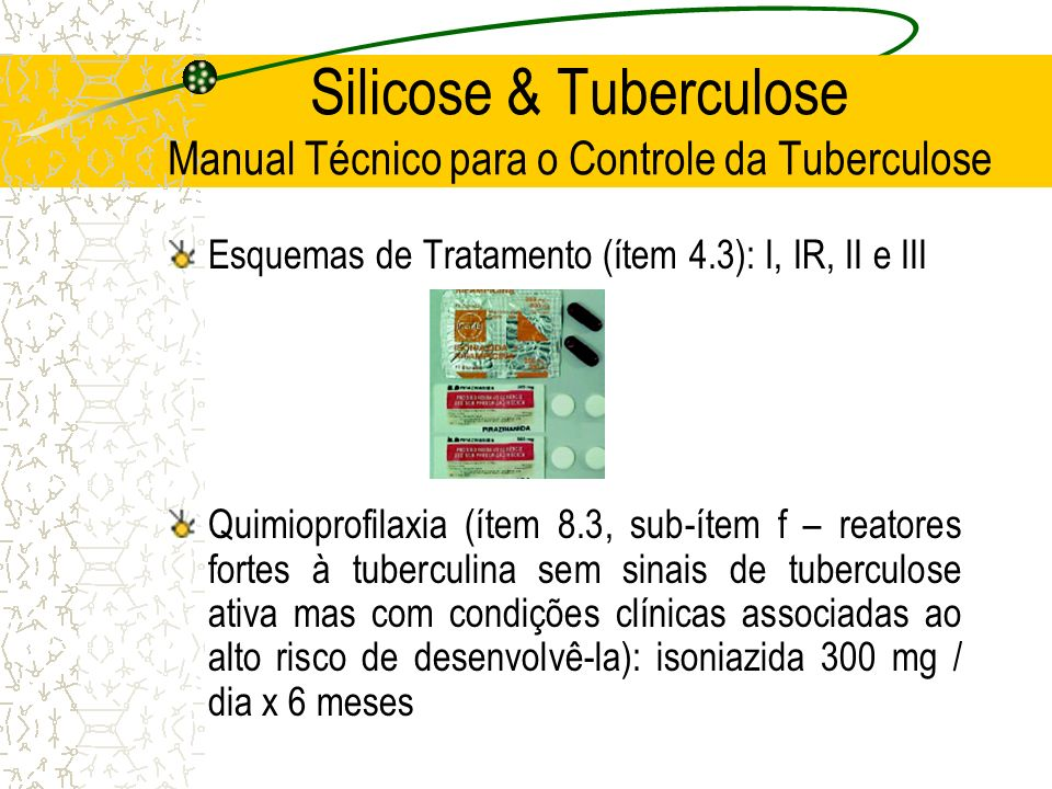 Silicose & Tuberculose Manual Técnico para o Controle da Tuberculose