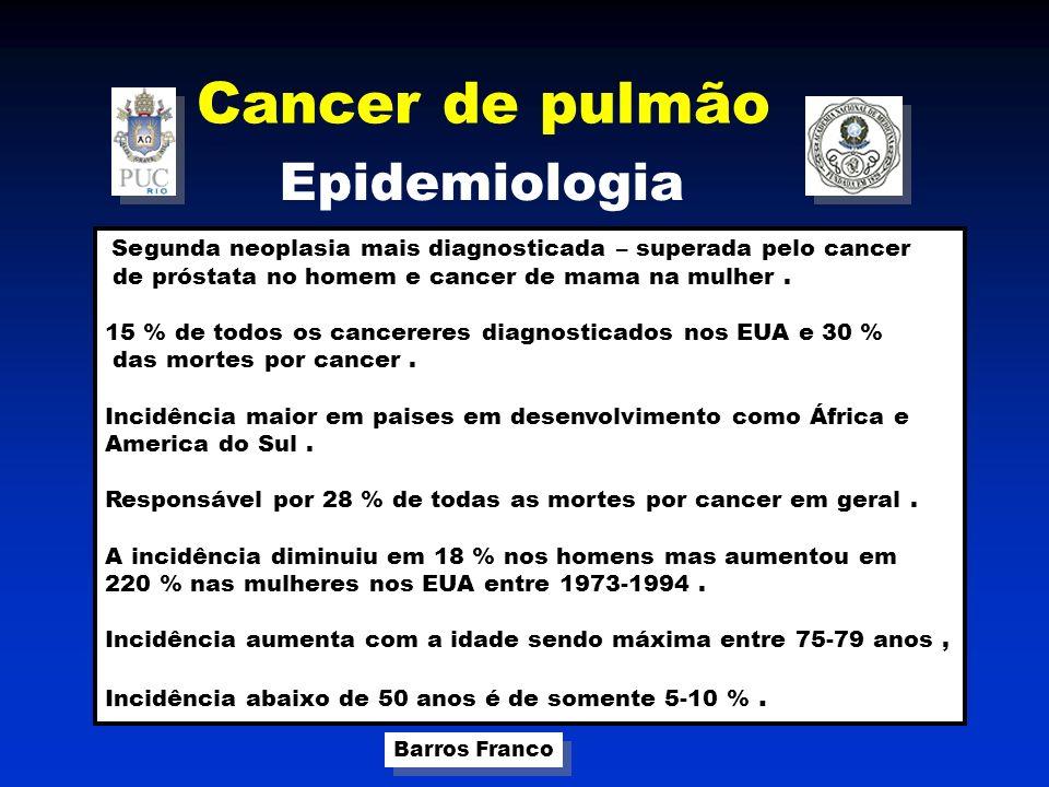 Cancer de pulmão Epidemiologia