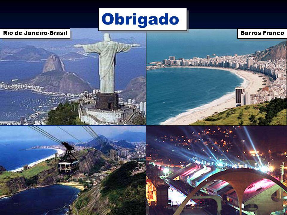 Obrigado Rio de Janeiro-Brasil Barros Franco