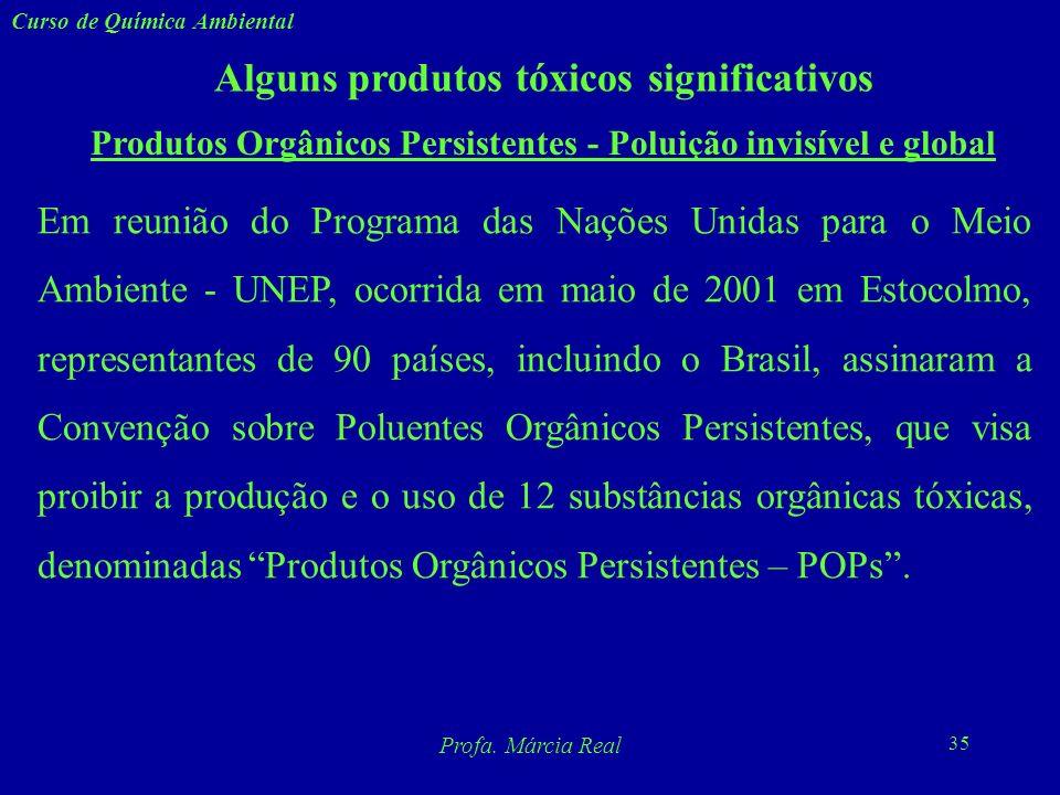 Produtos Orgânicos Persistentes - Poluição invisível e global
