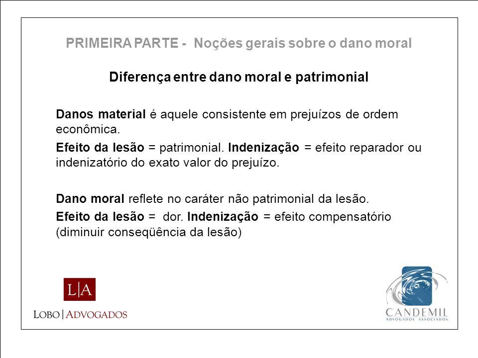 Diferença entre dano moral e patrimonial
