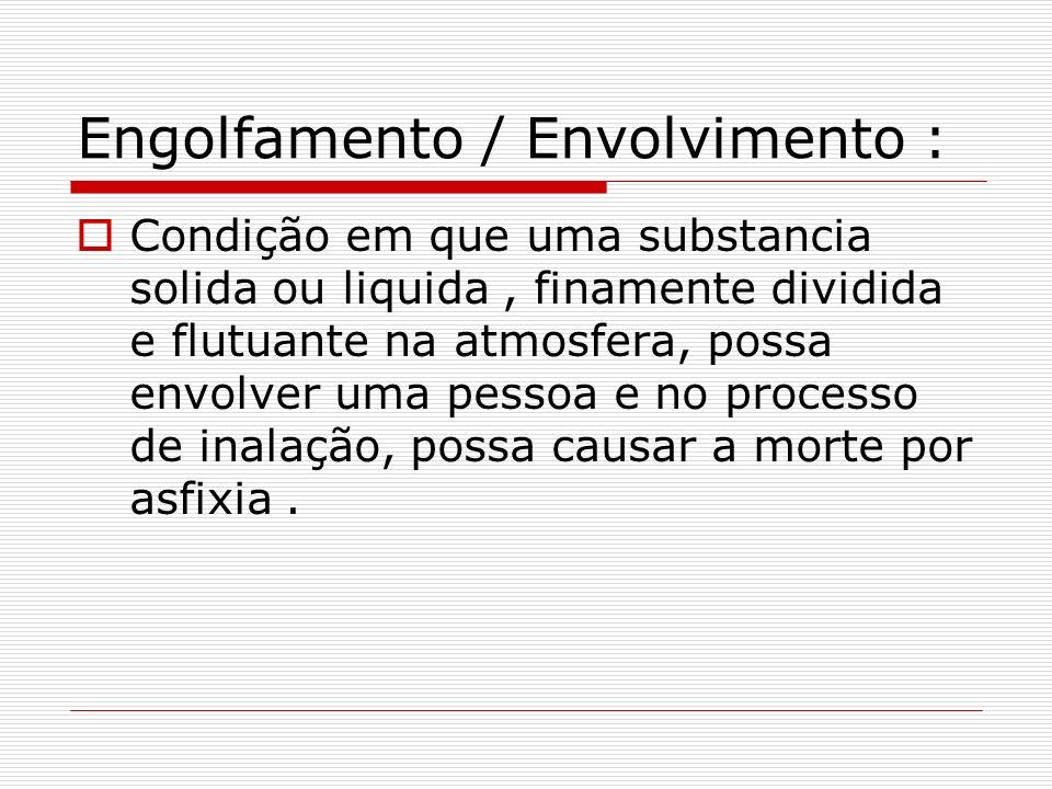 Engolfamento / Envolvimento :