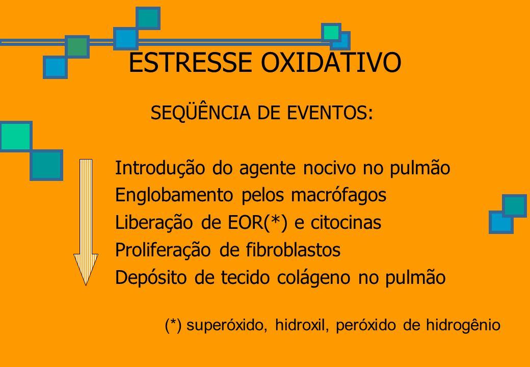 (*) superóxido, hidroxil, peróxido de hidrogênio