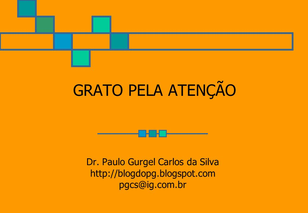 Dr. Paulo Gurgel Carlos da Silva