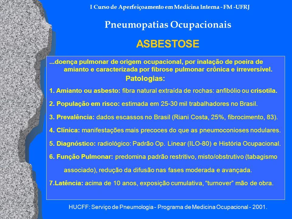 I Curso de Aperfeiçoamento em Medicina Interna - FM -UFRJ