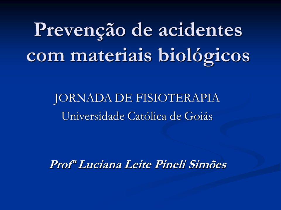 Prevenção de acidentes com materiais biológicos