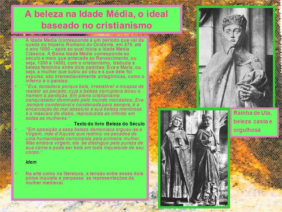 A beleza na Idade Média, o ideal baseado no cristianismo