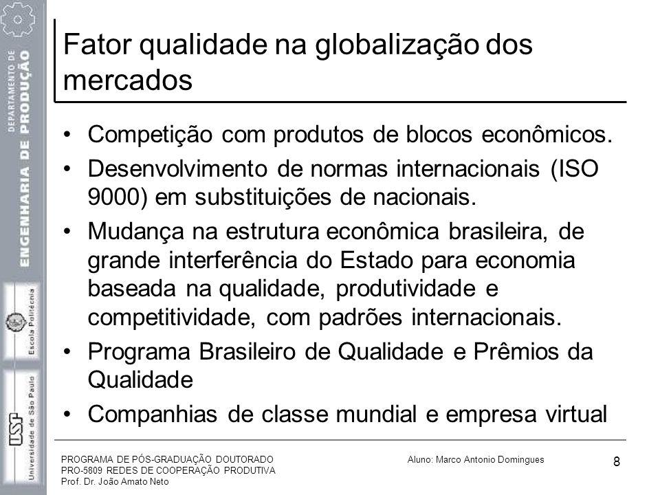 Fator qualidade na globalização dos mercados