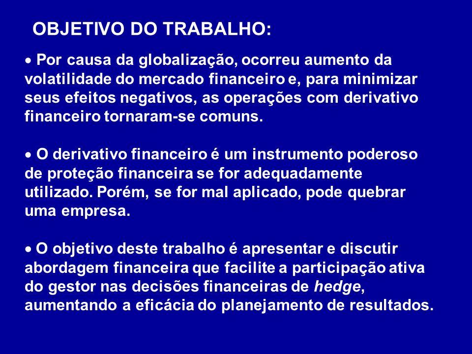 OBJETIVO DO TRABALHO: