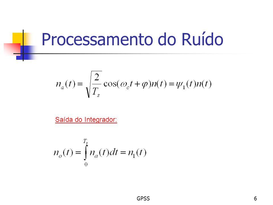 Processamento do Ruído