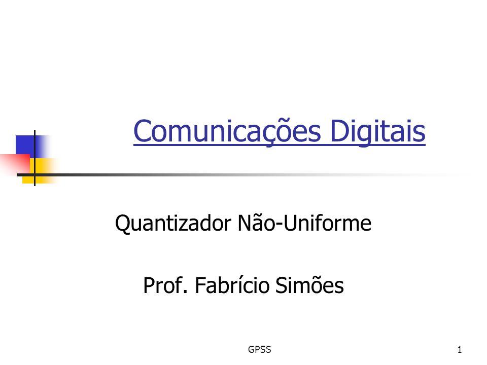 Comunicações Digitais