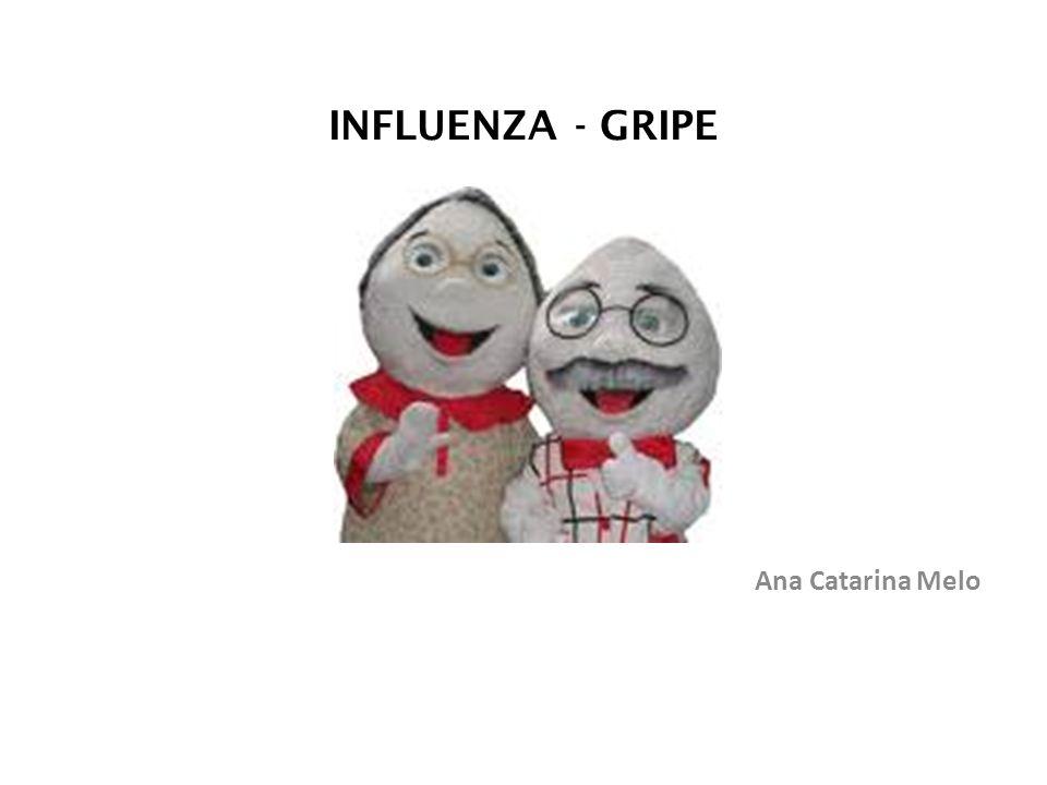 INFLUENZA - GRIPE Ana Catarina Melo