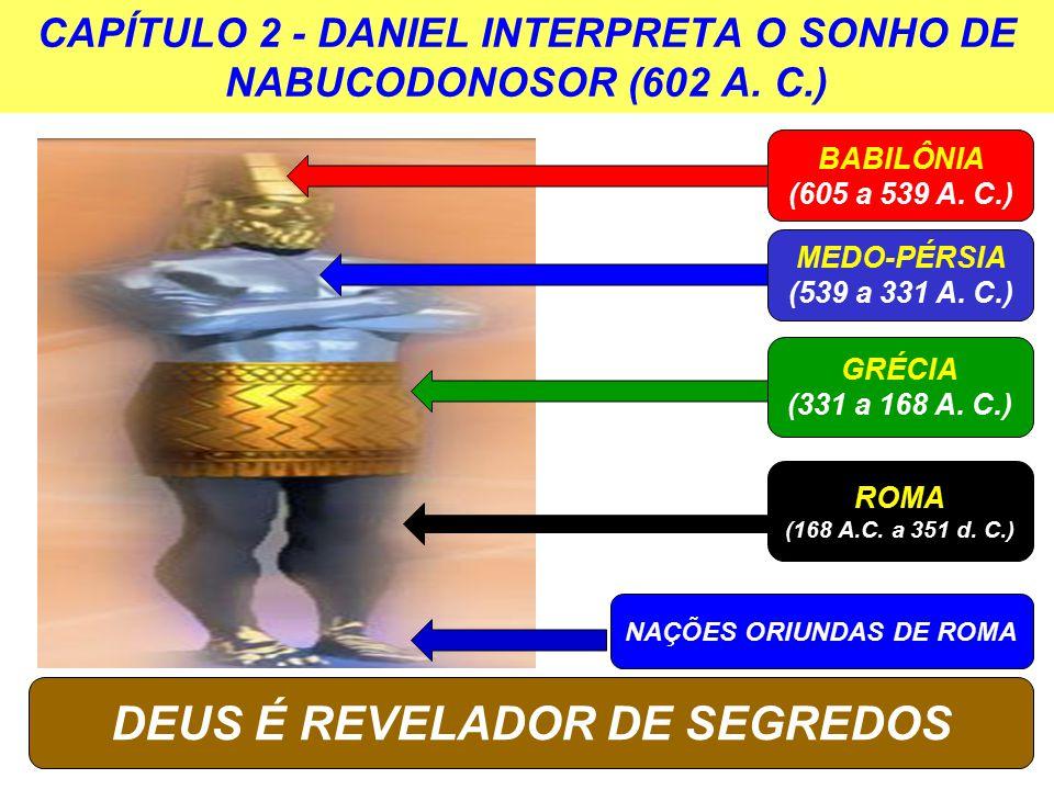 CAPÍTULO 2 - DANIEL INTERPRETA O SONHO DE NABUCODONOSOR (602 A. C.)