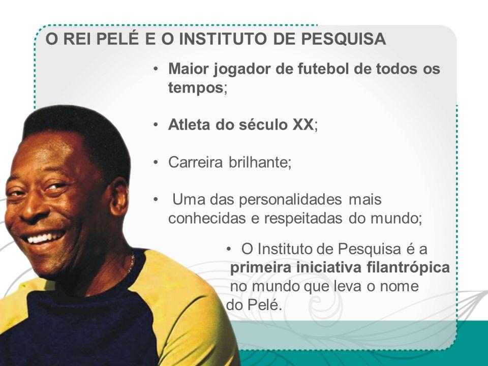 O REI PELÉ E O INSTITUTO DE PESQUISA