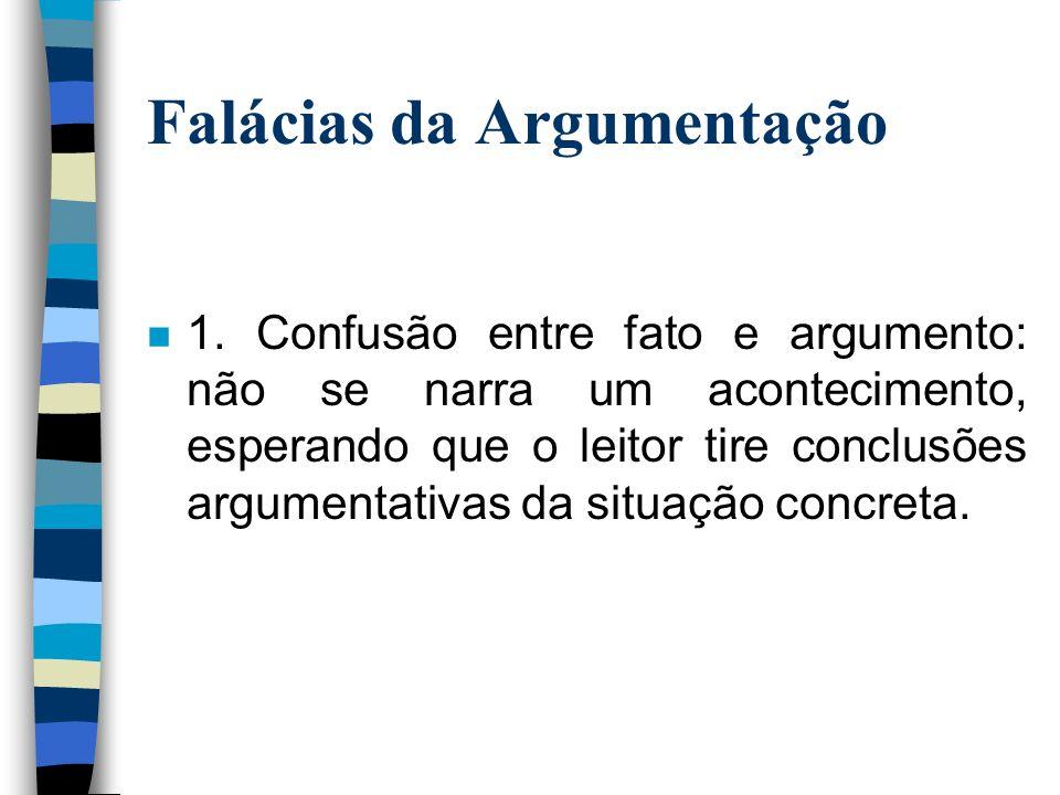 Falácias da Argumentação