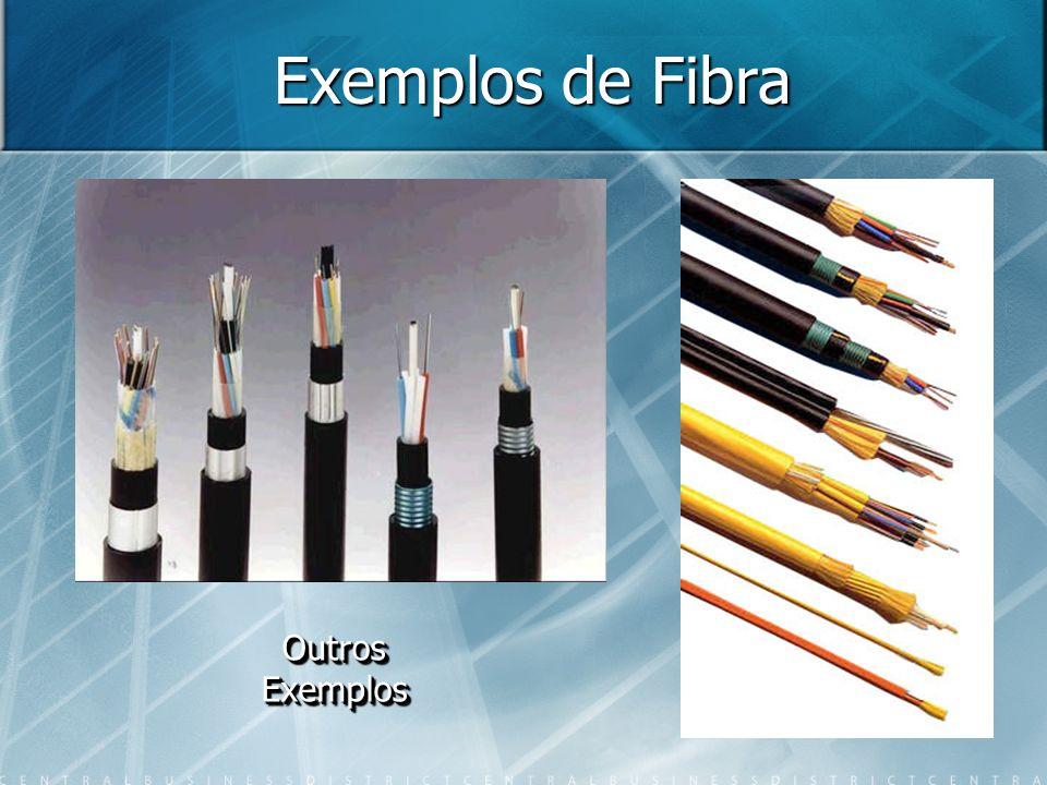 Exemplos de Fibra Outros Exemplos