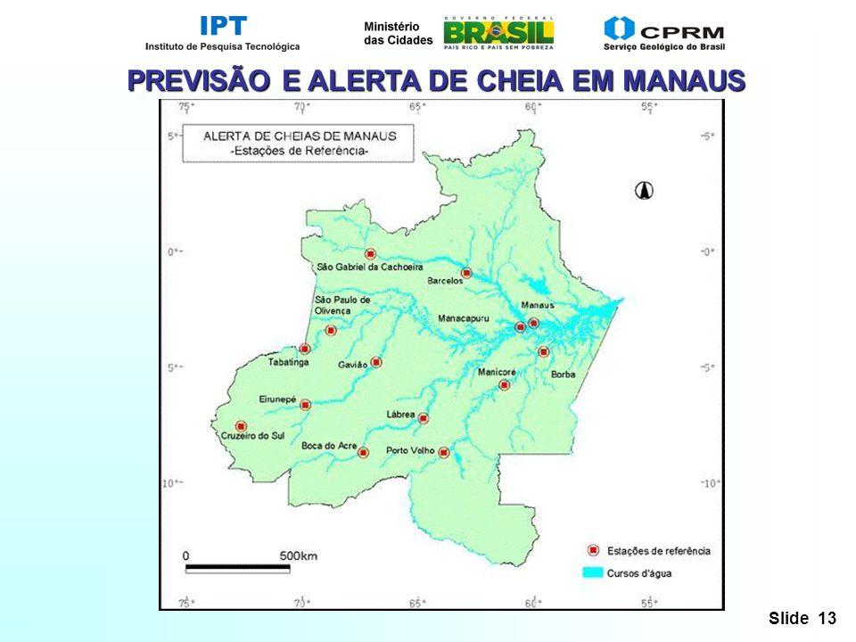 PREVISÃO E ALERTA DE CHEIA EM MANAUS