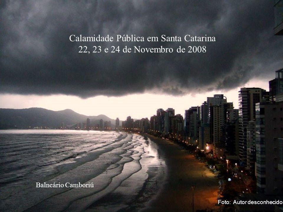 Calamidade Pública em Santa Catarina