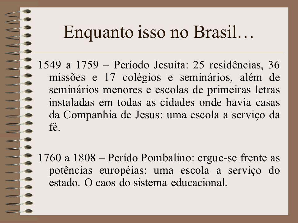 Enquanto isso no Brasil…