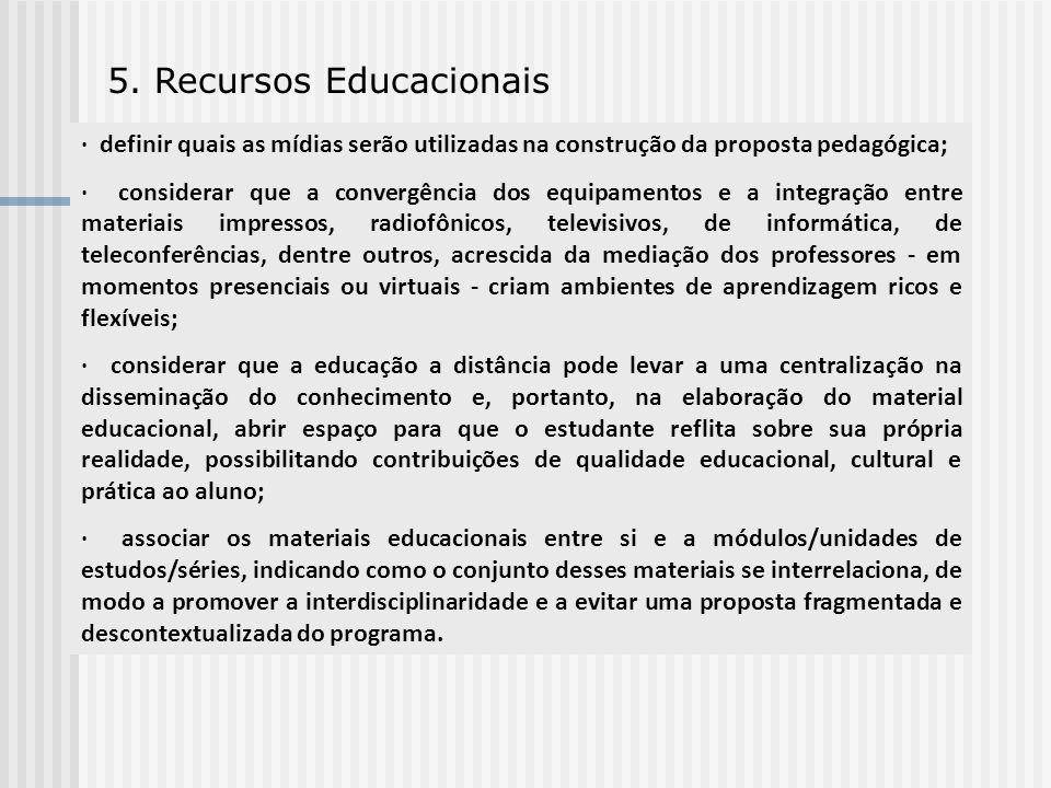 5. Recursos Educacionais