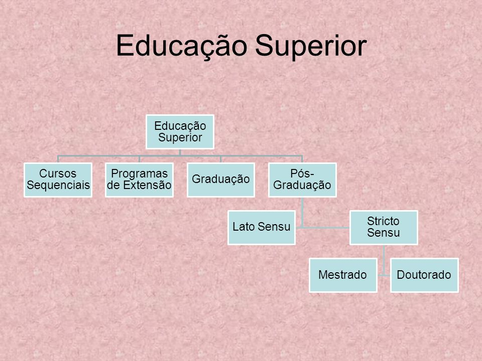 Educação Superior Educação Superior Cursos Sequenciais