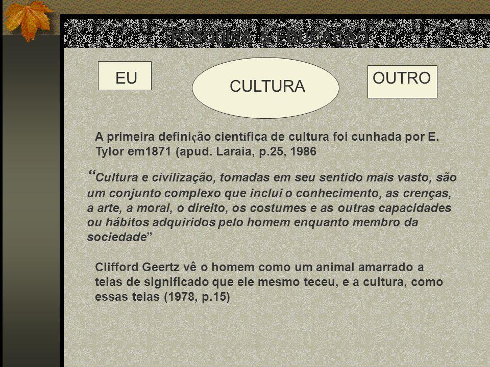 PESQUISA & EDUCAÇÃO EU OUTRO CULTURA