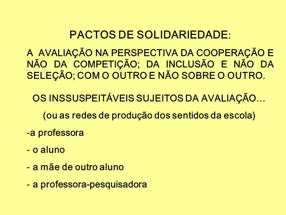 PACTOS DE SOLIDARIEDADE: