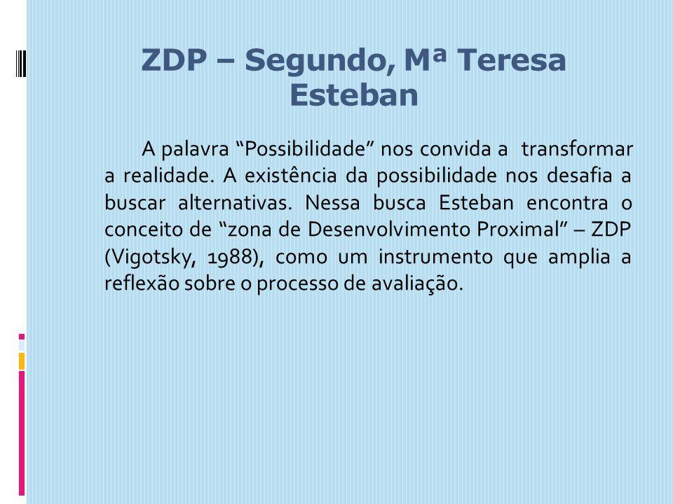 ZDP – Segundo, Mª Teresa Esteban