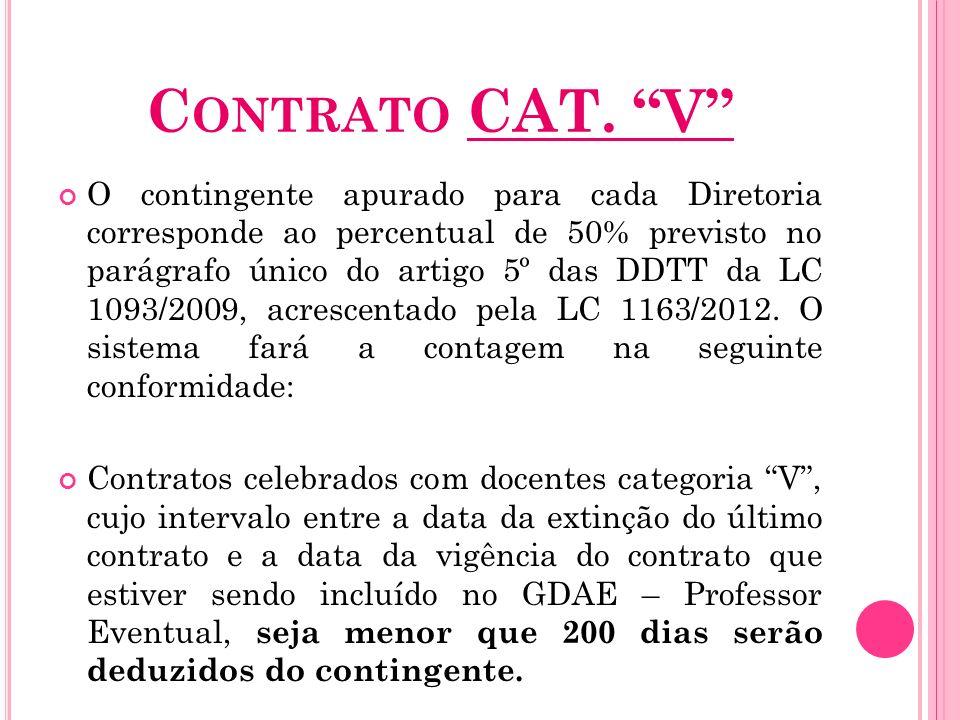 Contrato CAT. V